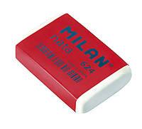 Ластик Milan 624 Nata прямоугольный (HB) 2.5*4 см.