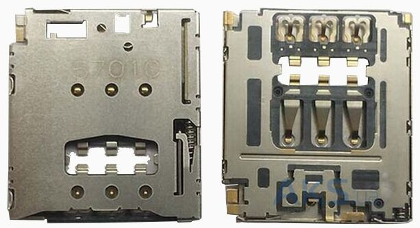 Aksline Разъем SIM-карты Lenovo B6000 / B8000