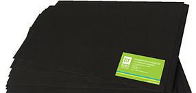 Фоамиран черный 20 листов (1мм/20x30см)