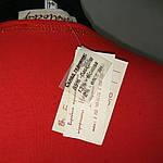"""Красная футболка с длинным рукавом  принт """"Кот Давинчи"""" 44-52плотный трикотаж , фото 6"""