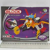 """Конструктор пластиковый K1505 3D """"Робот"""" 200 деталей"""