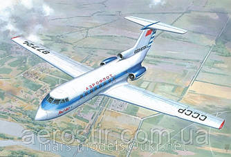 Самолет ЯК-40 1/72 MARS MODEL