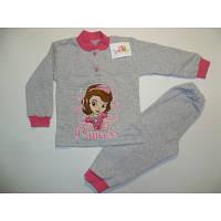 """Детская пижама (начес) на девочку """"София"""" 26 размер."""