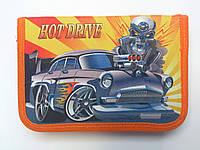 """Пенал JO-16073 """"Hot Drive"""" (1 отделение, 2 отворота, без наполнения)"""
