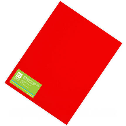 Фетр красный 20 листов (1мм/20x30см), фото 2