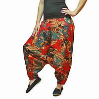Женские свободные штаны с мотней