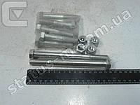 Болт 12 реак. тяг 2101 в сб. с гайкой и втулками (Миасс) к-т