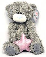 """Игрушка """"Мишка Тедди"""" со звездой (плюшевый) 20 см., 2 вида"""