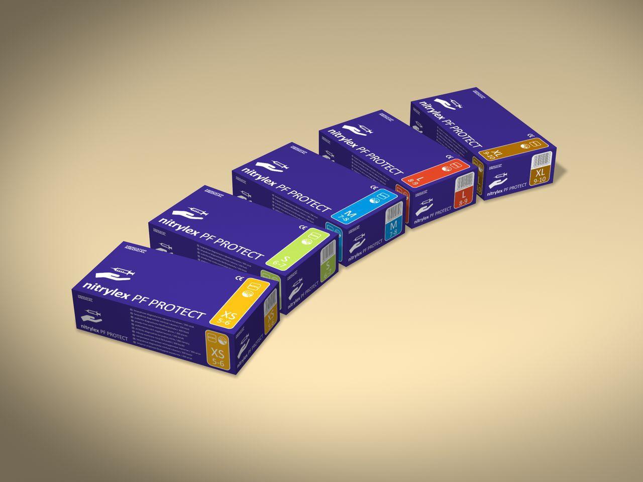 Перчатки Mercator Medical нитриловые 200 шт