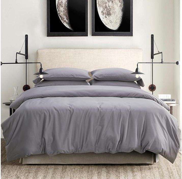 Постельное белье Сатин Light Grey ТМ Царский дом (Семейный)