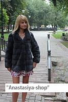 """Полушубок из скандинавской норки """"Марселла"""", рукав-трансформер"""