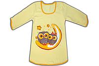 "Детская ночная рубашка ""Owl"" ,футер начес"