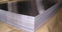 Лист нержавеющий AISI 430 0,4 мм 4N+PVC листы н/ж стали, нержавейка, технический