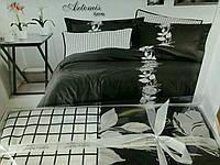 """Комплект постельного белья """"KARVEN"""" Artemis fume сатин-делюкс Евро"""