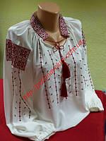 Блуза женская с вышивкой БЖ 19-16/01