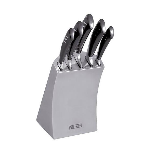 Набор ножей Vinzer 89125  TSUNAMI (6 пр.)