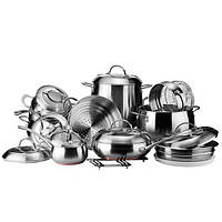Набор посуды Vinzer GRAND MAJESTIC (19 пр.) 89036