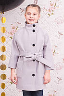 """Весеннее кашемировое пальто для девочки """"Леди"""""""