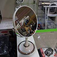 Зеркало настольное косметическое, диаметр 15 см