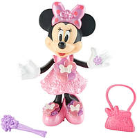 Fisher-Price Интерактивная Минни Маус  Disney Minnie Mouse Bloomin' Bows Minnie, фото 1
