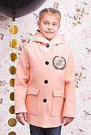 """Весеннее кашемировое пальто для девочки """"Викки"""""""