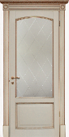 Двери межкомнатные ваниль Верона де Канте ПО