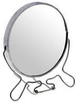 Зеркало настольное косметическое, диаметр 17 см