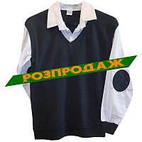 Рубашка+джемпер 2в1 Rom 202