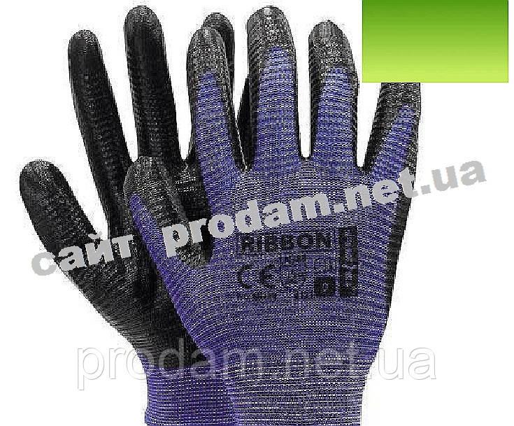 Перчатки нейлоновые RIBBON