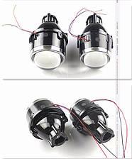 """Биксеноновые противотуманные фонари линзы 3.0"""" с универсальными креплениями / HID Bi-Focal projector M612 3.0"""""""