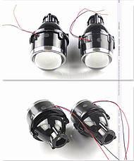 """Биксеноновые противотуманные фонари линзы 2.5"""" с универсальными креплениями / HID Bi-Focal projector M611 2.5"""", фото 2"""