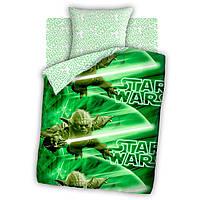 """Детское постельное белье Звездные войны """"Мастер Йода"""" 100% хлопок ТМ Непоседа Star Wars"""