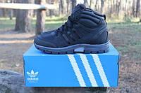 Зимние ботинки мужские адидас, Adidas Outdoor Winter Hiker II, чёрные
