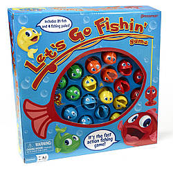Інтерактивна настільна гра РИБАЛКА / let's Go Fishin' від PRESSMAN TOYS