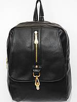 Рюкзак кож.зам практичный черный, фото 1