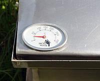 Коптильня 520х300х310 Крышка Домиком с термометром