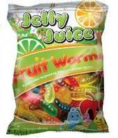 Жевательный мармелад с натуральным соком  Friut Worms / Фруктовые червячки 70г