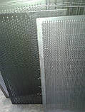 Решето КДУ, комірка 4 мм, товщина 2 мм, лист 388 х 663 мм, фото 2