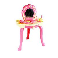 Игрушечный столик для макияжа с аксесс. (фен, духи, помада, расческа и др.)