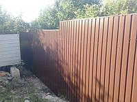 Забор из профнастила. Идеальный выбор!