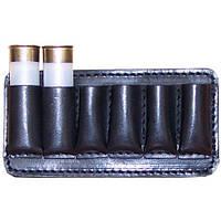 Патронташ кожаный на пояс 12к*6патронов - отличный выбор охотника