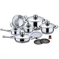 Набор кухонной посуды  MR-3504,14 предметов