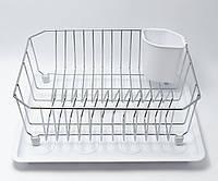 Сушка для посуды одноярусная  с поддоном Maestro MR 1028