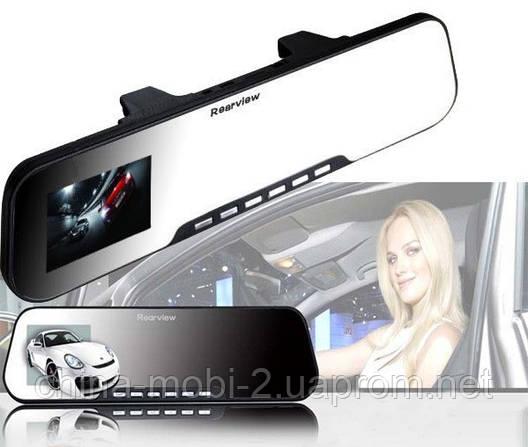 Видеорегистратор - зеркало заднего вида DVR HD Car Camera Rearview A-1, фото 2