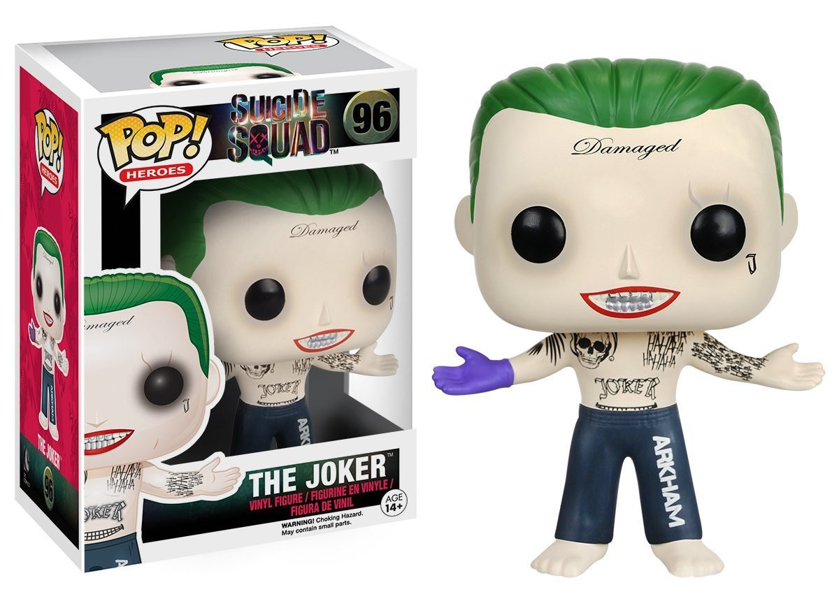 Джокер виниловая фигурка из фильма Отряд самоубийц / Joker Funko POP Suicide Squad Movies