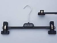 Плечики вешалки тремпеля для брюк и юбок  Coronet Basler30 черного цвета,  длина 30,5 см