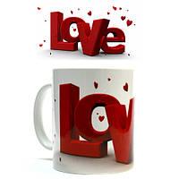"""Чашка """"Love """""""