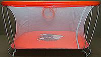 Манеж детский игровой KinderBox(оранжевый слоник)