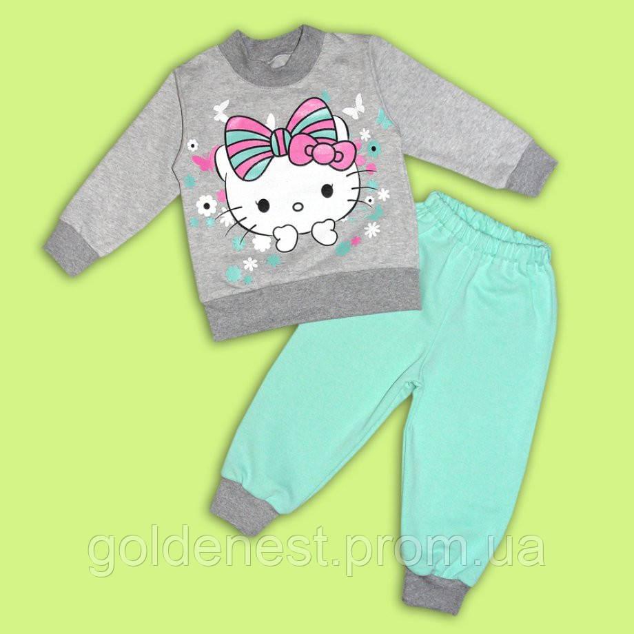 Спортивный костюм для девочки Китти, костюм для девочки на 1 год