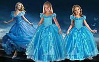 Платье детское- Золушка Бирюзовая